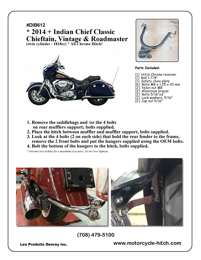 Motorcycle tagalong trailer wiring harness