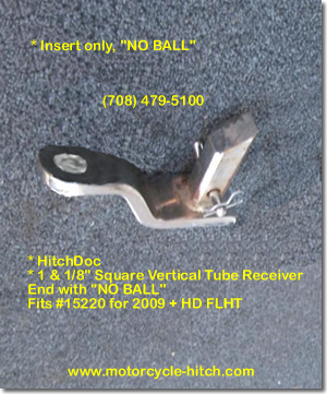 Receiver type hitch insert