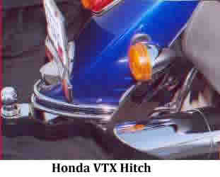 Honda VTX Hitch