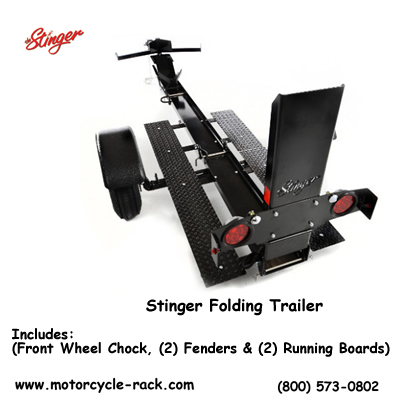 Stinger Folding Trailer